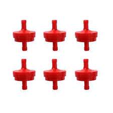 "New 6pcs/set Replacement Fuel Filter For Briggs And Stratton 1/4"" Replaces"