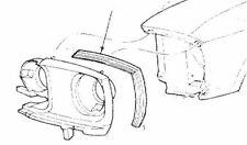 Mustang Fender or Quarter Extension Seals Pair 64 1965 66 67 68 69 70 71 72 73