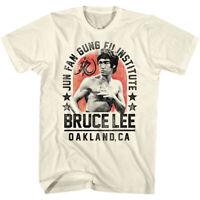 American Classics Bruce Lee Jun Fan Gung Fu T-Shirt - Natural