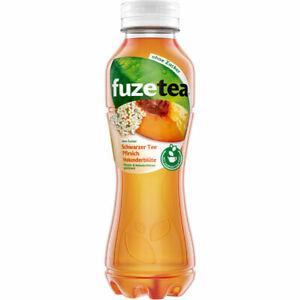 Fuze Tea Pfirsich Holunder ohne Zucker 12x0.40 L Flasche