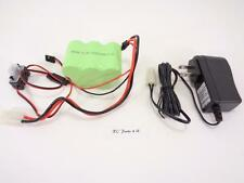 NEW HPI BAJA 5T 5B ROVAN NI-MH 4500MAH 6v RECEIVER BATTERY & CHARGER KING MOTOR