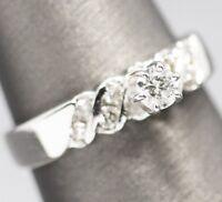 Petite Six Prong Diamond Engagement Ring