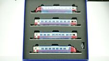 Roco SBB TEE Bavaria Railcar Set DCC w/Sound HO scale