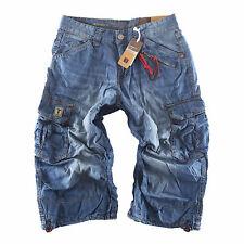 Timezone Herren  Bermuda Shorts 3/4  Miles TZ 3131 fog blue  Größen wählbar
