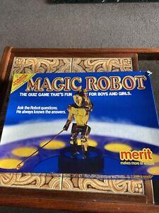 Merit Magic Robot Quiz Game - Vintage Game