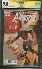 Mighty Avengers 34 CGC 9.8 SS Stan Lee Deadpool Wasp Pham Top 1 Variant movie