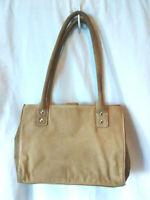 Wilsons Leather Suede  Women's Brown Suede Purse  Shoulder Bag Handbag