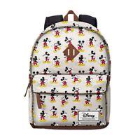 Zaino MICKEY MOUSE DISNEY Beige Unisex Backpack Beige Vintage Design 33607