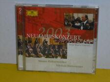 DOPPEL - CD - NEUJAHRSKONZERT 2003 - HARNONCOURT - WIENER PHILHARMONIKER