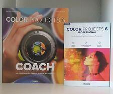 Bildbearbeitung Software Franzis projects 6 professional (Win/Mac) + Fachbuch
