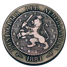 NETHERLANDS 2-1/2 CENT 1881 K4.3