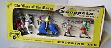 Britains Swoppets H7475  Boxed Set Mounted + Foot Knights  Plastic 1.32 Herald