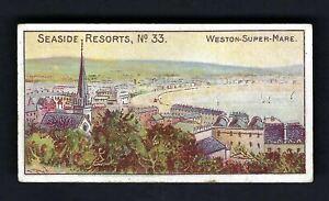 WILLS - SEASIDE RESORTS (WESTWARD HO) - #33 WESTON SUPER MARE