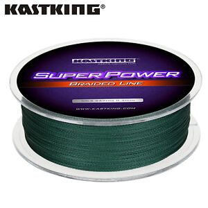 KastKing SuperPower Braided Fishing Line Saltwater Line Green Leader Line UK