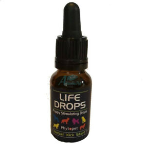 Phytopet Whelping Kit Life Drops Stimulate Respiration Puppies Herbal Kickstart