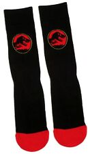 MENS JURASSIC WORLD DINOSAUR LOGO SOCKS UK SIZE 6-11 / EUR 39-46/USA 7-12