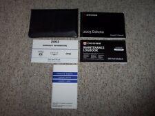 DODGE DAKOTA 2002 NEW Owner Manual OEM Part # 81-326-0234