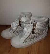 Alberto guardiani Womens  White High-tops & Sneakers Size37  Uk4