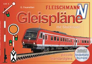 Fleischmann 81399 Gleisplanhandbuch für FLEISCHMANN-PROFI Gleise (Spur N) - NEU