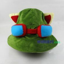 League of Legends LOL Teemo Cosplay Hat Game Plush Cap Army Green