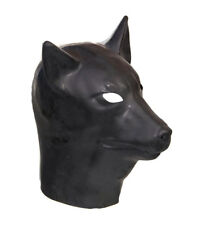 Rubber Latex Pup Hood Gummi Fetish Gay Interest Fashion Pup Play Puppy DOG Mask