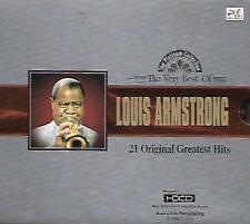 The Very Best of Louis Armstrong 21 Original Greatest Hits CD HDCD NEW Music