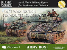 15mm Easy Assembly: Late War British Armoured Division Army Box