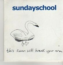 (BP315) Sunday School, This Swan Will Break Your Arm - DJ CD