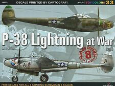 Kagero Mini Topcolors 33: P-38 Lightning at War Part II