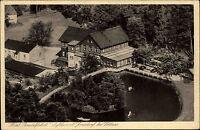 Jonsdorf Sachsen Zittauer Gebirge ~1920/30 Hotel Gondelfahrt Luftbild Fachwerk
