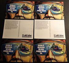 (6) 1996 VINTAGE SKI-DOO SNOWMOBILE FORMULA III UNUSED POST CARDS   (811)