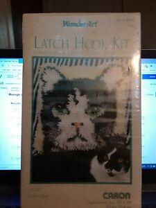 Wonderart by Caron Latch Hook Kit Cat