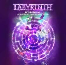 Labyrinth - Return To Live (CD+DVD)