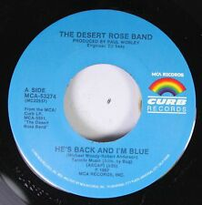 Country 45 The Desert Rose Band - He'S Back And I'M Blue / One That Got Away On