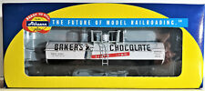 ATHEARN HO scale RTR 7276 BAKER'S CHOCOLATE #31057 CHEMICAL TANK CAR  NIB / 6