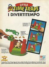 X2763 Little Time Traps - Editrice Giochi - Pubblicità 1996 - Advertising