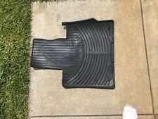 2000-2006 BMW X5 FLOOR MAT CARPET ORIGINAL OEM E53 4.6is 4.8is 3.0i RUBBER BLK