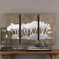 uttermost wooden wall sculptures ebay