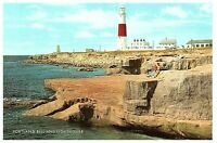Lot 2 Portland Bill & Lighthouse England & Aerial View w/ Chesil Beach Postcard