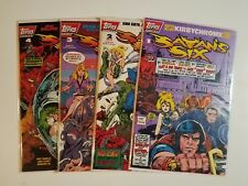 Satan's Six #1-4 NM+ SEALED (Topps,1993) Wolff & Byrd Counselors of the Macabre!