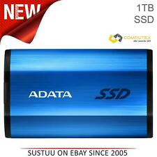 Adata SE800 1TB Solid State Drive | USB 3.2 External SSD | Type-C | Blue