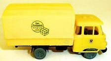 Post ROBUR CAMION LE COLIS Bâche de Camion à plat jaune RDA H0 1:87 uj2 Å