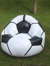 Fußball Sitzsack aufblasbar 4 Stck WM EM Public Viewing