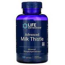 Life Extension Advanced Milk Thistle, 120 Softgels