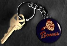 Atlanta Braves Retro LOGO Keychain Key Chain