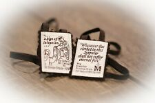 100% Pure Wool Brown Scapular - Product of the USA