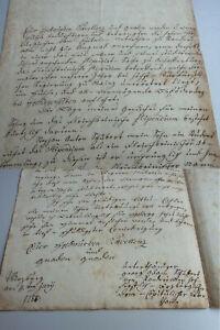 Letter Würzburg 1788: Stud. Schubert (Randersacker) Fleischbein' Isches