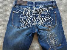 CHRISTIAN AUDIGIER ~ BOOTCUT STRETCH ~ Actual Size 28x30 - GREAT CONDITION!