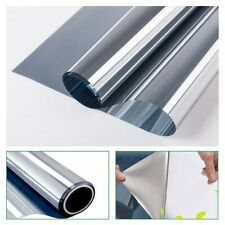 100*60cm Mirror Solar Reflective Window Film One Way Home Privacy Tint Anti-UV*