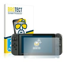 2x Nintendo Interruptor Pantalla Película Protectora Mate Antirreflectante